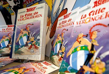 Editorial photo of Asterix - La fille de Vercingetorix released, Nice, France - 24 Oct 2019