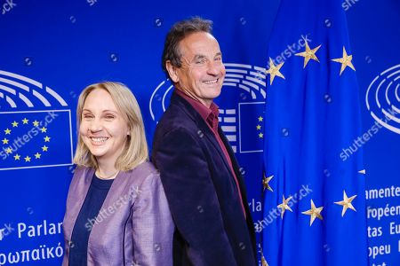Jane Brophy and Chris Davies