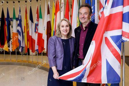 Editorial picture of British MEPs at the European Parliament, Brussels, Belgium - 03 Sep 2019