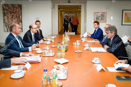 David Sassoli meets with Wolfgang Sobotka