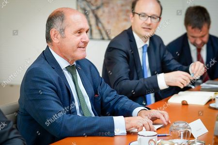 Editorial image of European Parliament President David Sassoli meetings, Brussels, Belgium - 23 Sep 2019