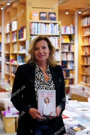 Valerie Trierweiler presents her new book 'On se donne des nouvelles'