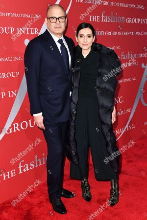 Stock Photo of Reed Krakoff and Delphine Krakoff