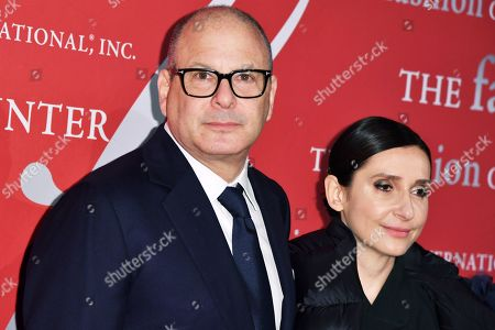 Stock Image of Reed Krakoff and Delphine Krakoff