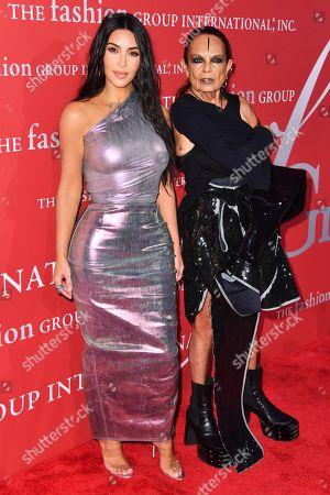 Michele Lamy and Kim Kardashian West