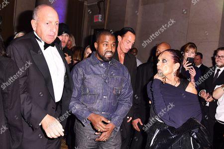 Kanye West and Michele Lamy