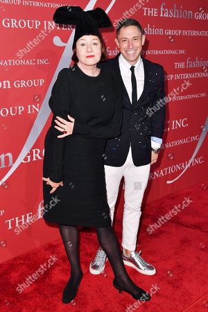 Nell Campbell and Jonathan Adler
