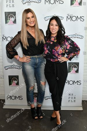Stock Photo of The MOMS - Denise Albert and Melissa Gerstein