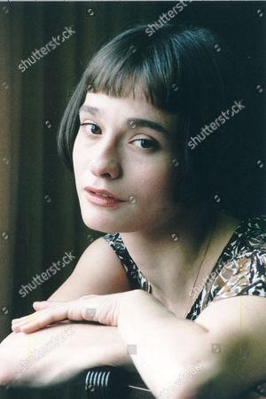 Editorial photo of Actress Elina Lowensohn.