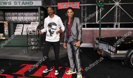 Stock Photo of Snoop Dogg and Cordell Broadus