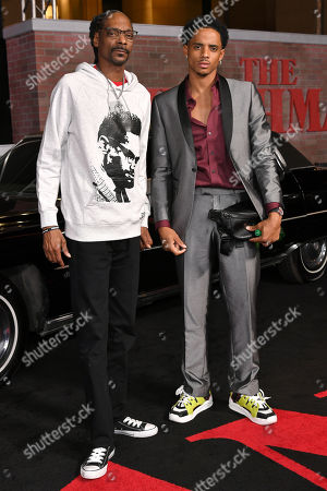 Stock Picture of Snoop Dogg and Cordell Broadus