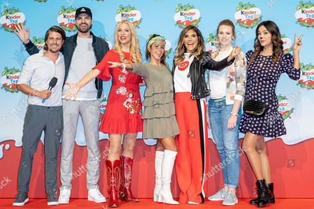 Stock Image of Tommy Scheel, Jimi Blue Ochsenknecht, Sonya Kraus, Sarah Lombardi, Ayda Williams, Anna Hofbauer and Verona Pooth