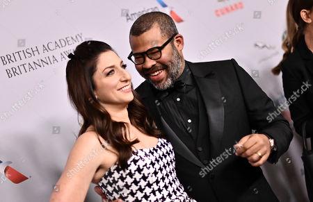 Stock Photo of Chelsea Peretti and Jordan Peele