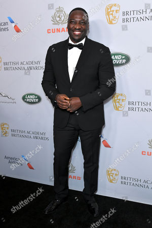 Editorial photo of British Academy Britannia Awards, Arrivals, The Beverly Hilton, Los Angeles, USA - 25 Oct 2019