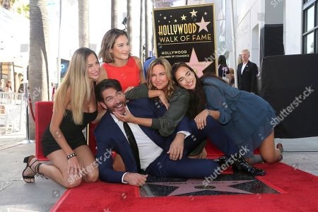 Georgia Tatum Connick, Harry Connick Jr., Sarah Kate Connick, Jill Goodacre, Charlotte Connick. Georgia Tatum Connick, from left, Harry Connick Jr., Sarah Kate Connick, Jill Goodacre and Charlotte Connick pose during a ceremony honoring Connick Jr. with a star on the Hollywood Walk of Fame, in Los Angeles