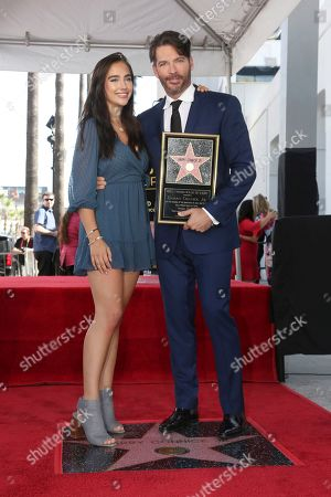Harry Connick Jr., Charlotte Conick. Charlotte Connick, left, and her father Harry Connick Jr. pose during a ceremony honoring him with a star on the Hollywood Walk of Fame, in Los Angeles