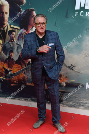 Stock Picture of Michael Brandner arrives for the premiere of the film 'Midway' in Munich, Germany, 24 October 2019. The movie opens across German theaters on 07 November.