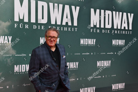 Editorial picture of Midway film premiere in Munich, Germany - 24 Oct 2019