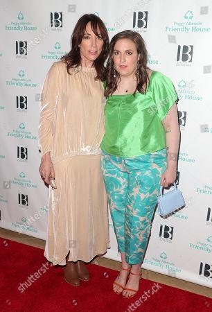 Katey Sagal and Lena Dunham