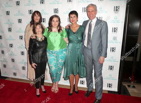 Katey Sagal, Marcia Harrow, Lena Dunham, Monica Phillips, and Bob Roth