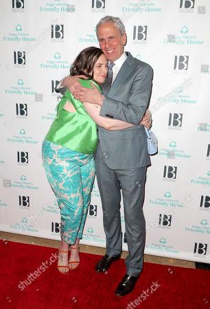 Lena Dunham and Bob Roth