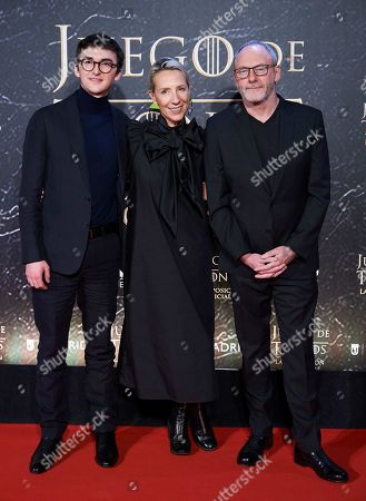 Editorial photo of 'Game of Thrones' exhibition, Arrivals, Madrid, Spain - 24 Oct 2019