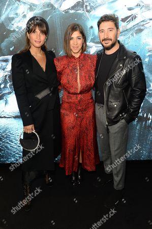 Rocky Barnes, Eran Elfassy and Elisa Dahan