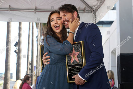 Harry Connick Jr., Charlotte Connick. Charlotte Connick, left, and Harry Connick Jr. pose during a ceremony honoring Harry Connick Jr. with a star at the Hollywood Walk of Fame, in Los Angeles