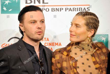Stock Image of Michael Pitt and Dree Hemingway