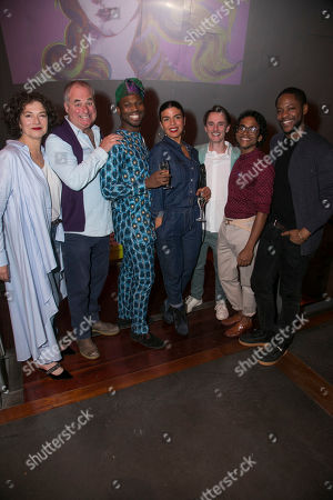 Editorial photo of 'Botticelli in the Fire' party, After Party, London, UK - 24 Oct 2019