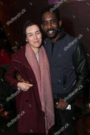 Olivia Williams and Rhashan Stone