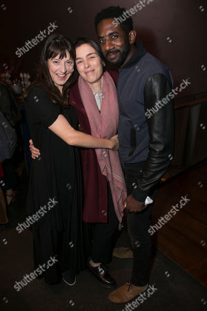 Stock Photo of Blanche McIntyre (Director), Olivia Williams and Rhashan Stone