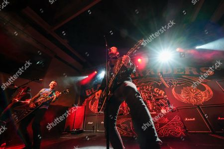 Editorial photo of Black Star Riders in concert at The Great Hall, University Students' Union, Cardiff, Wales, UK - 24 Oct 2019