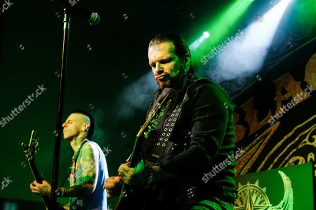 Editorial picture of Black Star Riders in concert at The Great Hall, University Students' Union, Cardiff, Wales, UK - 24 Oct 2019
