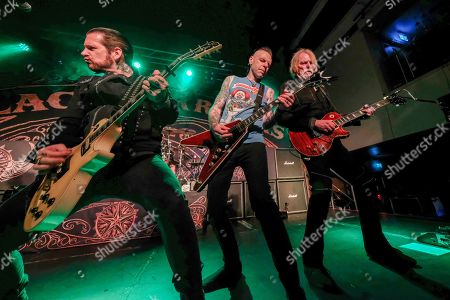 Editorial image of Black Star Riders in concert at The Great Hall, University Students' Union, Cardiff, Wales, UK - 24 Oct 2019
