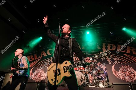 Stock Picture of Christian Martucci and Ricky Warwick