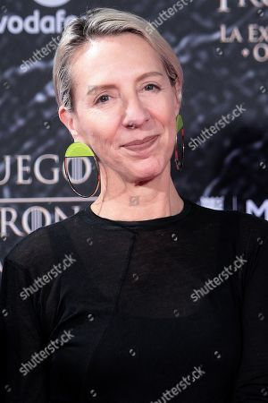 Editorial image of 'Game of Thrones' exhibition photocall, Madrid, Spain - 24 Oct 2019