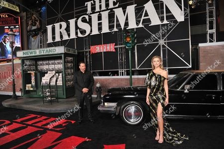 "Randall Emmett, Lala Kent. Randall Emmett, left, and Lala Kent arrive at the Los Angeles premiere of ""The Irishman"", at the TCL Chinese Theatre"