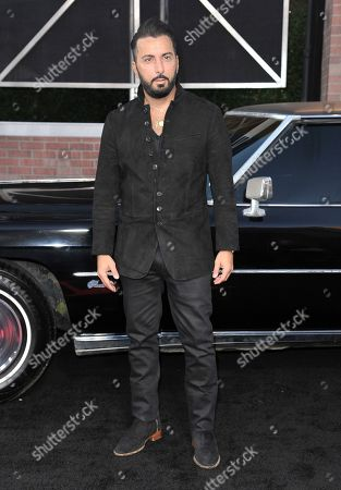 "Danny A. Abeckaser arrives at the Los Angeles premiere of ""The Irishman"", at the TCL Chinese Theatre"