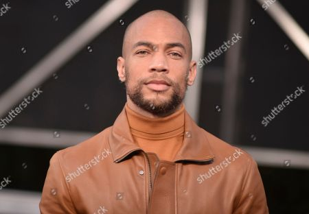 """Kendrick Sampson arrives at the Los Angeles premiere of """"The Irishman"""", at the TCL Chinese Theatre"""