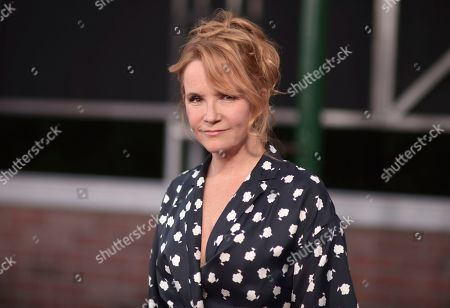 "Lea Thompson arrives at the Los Angeles premiere of ""The Irishman"", at the TCL Chinese Theatre"