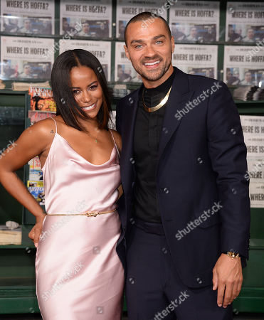 Stock Photo of Taylour Paige and Jesse Williams