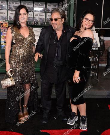 Meital Dohan, Al Pacino and Olivia Pacino
