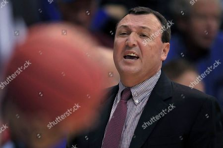 Editorial image of Fort Hays St Kansas Basketball, Lawrence, USA - 24 Oct 2019