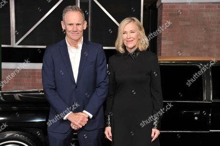 "Catherine O'Hara, Bo Welch. Catherine O'Hara, right, and Bo Welch arrive at the Los Angeles premiere of ""The Irishman"", at the TCL Chinese Theatre"