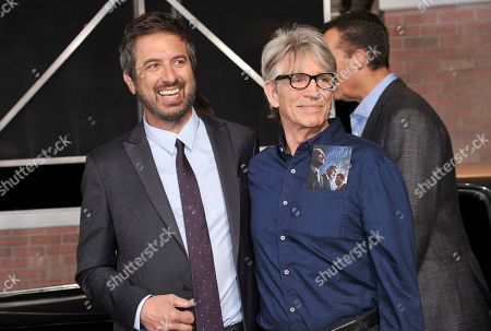 "Ray Romano, left, and Eric Roberts arrive at the Los Angeles premiere of ""The Irishman"", at the TCL Chinese Theatre"