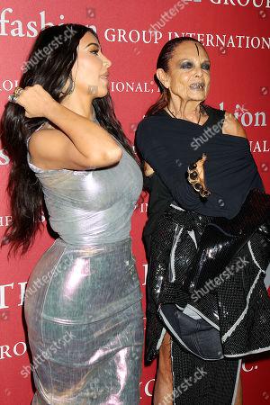 Kim Kardashian West and Michele Lamy