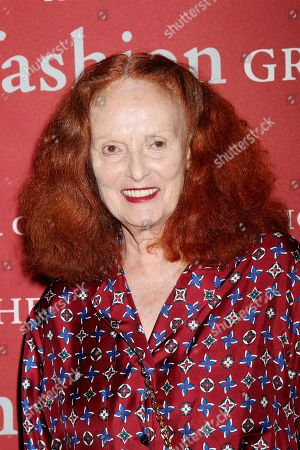 Stock Photo of Grace Coddington