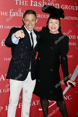 Jonathan Adler and Nell Campbell