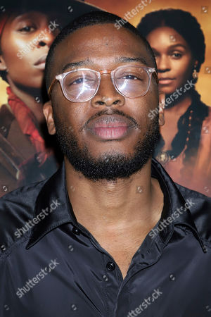 """Zackary Momoh attends the special screening of """"Harriet"""" at The Roxy Hotel, in New York"""